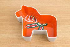 Dala Horse Swedish Folk Art Dish Sagaform Design by Ylva Olsson - 6 inches