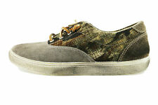 scarpe uomo BEVERLY HILLS POLO CLUB 41 sneakers beige tessuto camoscio AH990-C1