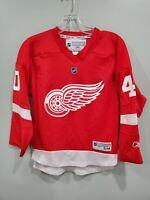 Reebok CCM NHL Detroit Red Wings Henrik Zetterberg 40 Hockey Jersey Youth S M