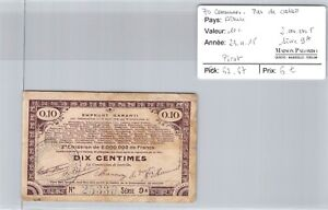 Good Pas De Calais - 10 Cents 23/4/15 - 2000000 F Series 9A N°25330