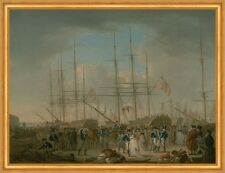 Hussars embarking at Deptford William Anderson ussari velieri B a2 03473