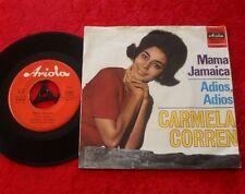 "Single 7"" Carmela Corren - Mama Jamaica / Adios, Adios"