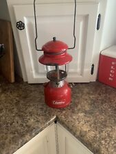 vintage coleman 200a Red