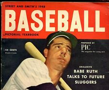 1948 Street & Smith Baseball Yearbook Joe DiMaggio on Cover VGEX