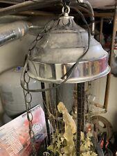 Vintage-Hanging-Mineral-Oil-Rain-Motion-Lamp-Nude-Greek-Goddess-Lady