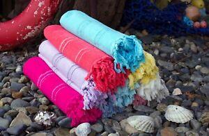 Luxury Turkish Hammam Peshtemal Cotton Pestemal Bath Towel Spa Gym Yoga Beach