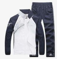 New Mens 2PCS Jogging Suits Coat Running Tracksuit Sport Jacket Pants