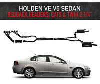 """Holden Commodore VE V6 3.6L - Redback Headers, Cats and Twin 2 1/4"""" Exhaust"""