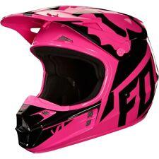 Fox Racing V1 MX Womens DOT Dirt Bike Off Road Motocross Helmets X-Small