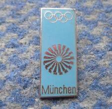 OLYMPIC MUNICH MUNCHEN 1972 ENAMEL RARE POLISH PERFORMANCE ENAMEL PIN BADGE
