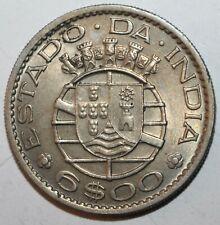 Portuguese India 6 Escudos Coin 1959 KM# 35 Goa Damão Diu Portugal Six