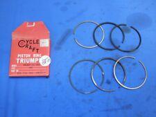 New Cycle Craft 750cc Triumph Piston Ring Set +.040 Oversize B1124