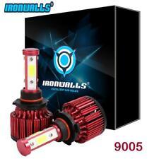4 Sides X6 9005 LED Headlight 9145 H10 Fog Bulbs for Jeep Grand Cherokee 05-15