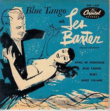 "7"" FRENCH EP 45 TOURS LES BAXTER ""Blue Tango / Ruby / Quiet Village +1"" 1955"