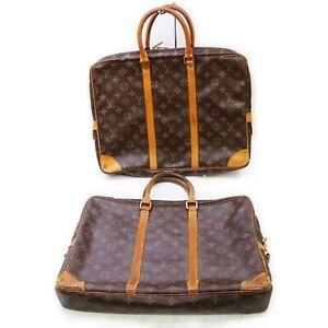 Louis Vuitton Monogram Brief Case 2 pieces set 519233