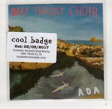 (HR629) Deep Throat Choir, Ada - 2017 DJ CD