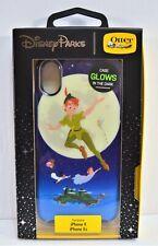 Disney Otterbox Peter Pan & Tinker Bell Glow In Dark Apple Iphone 10 X/XS Case