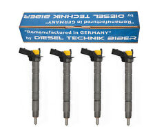 Einspritzdüse Injektor 0445116030 VW AUDI SEAT SKODA 2,0 TDI 03L130277 4x