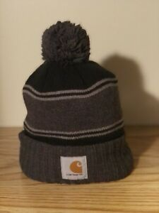 Carhartt Knit Hat W/ Pom At Top. One Size