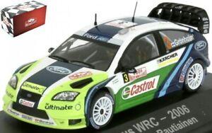 Ford Focus WRC N0.3 Rally Monte Carlo 2006 (CON Grönholm - T. Rautianen) 1:43