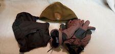 US National Park Service Fleece Cap, Balaclava, Winter Gloves Set