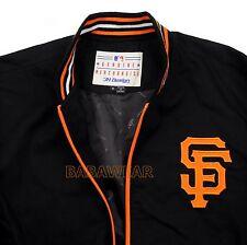 MLB GIANTS SIZE 4XL JACKET SAN FRANCISCO SF BASEBALL ZIPPER JH DESIGN