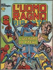 L' UOMO RAGNO GIGANTE # 39 L' UCCISORE DI RAGNI Corno 1979 ka-zar kazar ka - zar