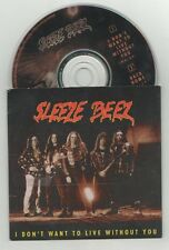 sleeze beez - i don't want to live without you  cd single