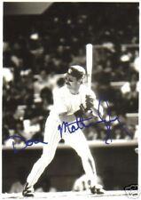 Don Mattingly Hand Signed Black & White Photograph 4X5