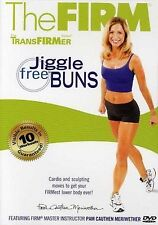 THE FIRM - JIGGLE FREE BUNS (DVD) workout transfirmer series Pan Meriwether NEW