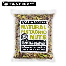 Gorilla Food Co. Pistachios Shelled Raw Kernels Best Quality -1lb/16oz