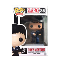 Funko pop tony montana scarface cara cortada figure tv cine D