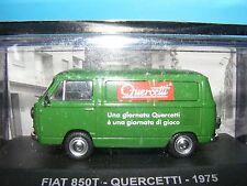 FIAT 850 T FURGONE IN VERDE 1:43 Scala italiani