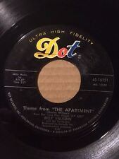"""BILLY VAUGHN & HIS ORCHESTRA US 7"""" - THEME FROM THE APARTMENT - DOT 45-16121"""