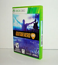 Genuine Microsoft XBOX 360 Guitar Hero Live  ***GAME ONLY*** Brand New!
