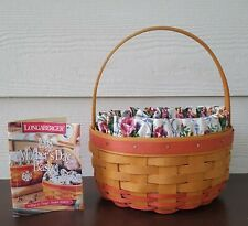 Longaberger '98 Mothers Day Rings & Things Basket Combo 3-Way Divided Protector