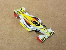 #7 Flow Racemasters Yellow, White & Red - F1 Formula One body - Afx Mega G - New