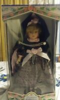 VICTORIAN BOWS COLLECTIONS GENUINE PORCELAIN DOLL Handcrafted in China