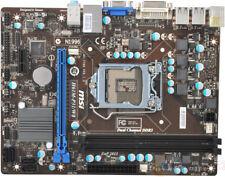 MSI H61M-P31-W8, LGA 1155/Socket H2,DDR3, Intel Motherboard