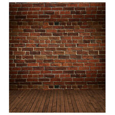 3x5ft Vinyl Photography Background Brick Wood Wall Floor Backdrops Studio P S6E4