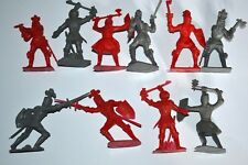 New listing Unpainted Plastic figures Cherilea Knights 58mm