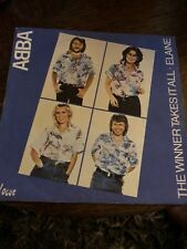 ABBA THE WINNER TAKES IT ALL PICTURE SLEEVE 1980 VOGUE FRANCE 7""