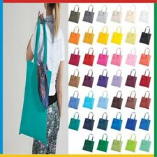 Shopping Bag Bright tote LONG HANDLE Bag For Life 100% Cotton Canvas Printable