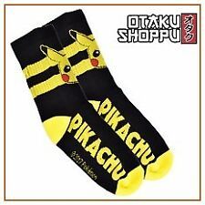 Otaku Shoppu POKEMON Black High Socks - Pikachu
