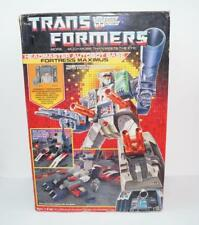 Fortress Maximus MIB 100% Complete 1987 Vintage Action Figure G1 Transformers