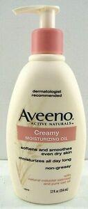 AVEENO Creamy Moisturizing Oil w/Natural Colloidal Oatmeal & Pure Oat Oil 12floz