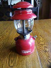 VTG 1965 Coleman Red Model 200 Lantern Camping