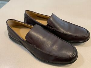 "COLE HAAN Men's ""Dalton 2.Gore"" Dark Brown Leather Loafers Size 11M (NIB)"
