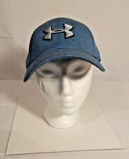 Under Armour Hat M/L Teal W/White Logo Stitching Good ConditIon #6493880