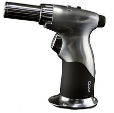 ZICO TORCH LIGHTER DUAL JET FLAME BUTANE GAS REFILLABLE BLACK GIFT BOXED MT07